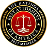 Rue Ratings Best Attorneys of America 2017
